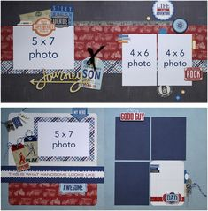 JUNE 2015 LAYOUT CLUB KIT  featuring Jack & Jill by Echo Park