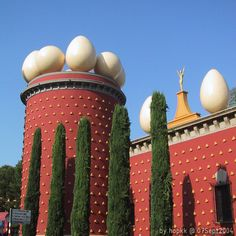 Dalí Theatre and Museum in Figueres Girona