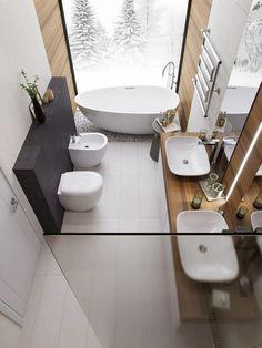 most beautiful bathroom design with modern bathtub ideas 30 ~ my.easy-cooki… most beautiful bathroom design with modern bathtub ideas 30 ~ my. Bad Inspiration, Bathroom Inspiration, Bathroom Design Luxury, Interior Design Kitchen, Bad Styling, Modern Bathtub, Freestanding Bathtub, Bathroom Modern, Modern Bedroom