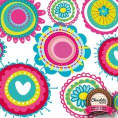 Flores17 Symbols, Letters, Chocolate, Art, Paper Envelopes, Art Background, Kunst, Letter, Chocolates