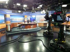 images of tv news studio - Google Search
