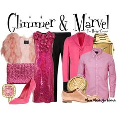 Inspired by Leven Rambin & Jack Quaid as Glimmer and Marvel, the District 1 tributes from 2012's The Hunger Games.