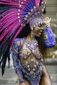 Brazilian Carnival Costumes, Carribean Carnival Costumes, Trinidad Carnival, Caribbean Carnival, Trinidad Caribbean, Rio Carnival Dancers, Carnival Girl, Carnival Makeup, Carnival Fashion