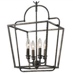 Elegant Open Cage Lantern