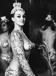 Chorus Girl from the Parisian Latin Quarter, C.1950's. Photo By Peter Basch