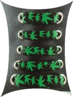 Stylish cannabis shoelaces