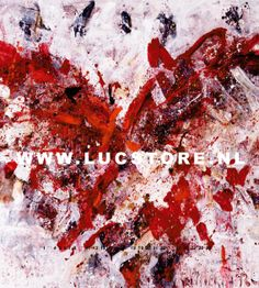 TITLE:  DEEP RED 2007  SIZE : 200X200  MATERIAL : MIXED MEDIA ON CANVAS