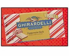 Ghirardelli peppermint bark