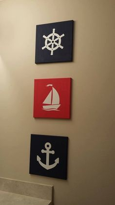 Nautical Vinyl Home Decor Nursery/Bathroom/Kids Room by DecorizeIt, $50.00
