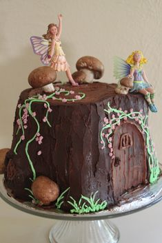 Fairy cake, woodland fairy party,