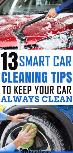 Easy car cleaning tips to keep you car clean the smart way. From car upholstery cleaning to cleaning car tires, these car cleaning hacks cover deep cleaning every part of the car. In short, these car cleaning tips, trick, and hacks are awesome.