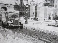 Vanished Rome. Historical Photos of Rome - Piazza del Popolo 1939