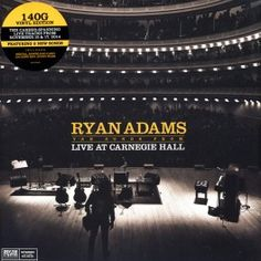 Ryan Adams Ten Songs From Live At Carnegie Hall LP Vinil 140 Gramas + Código Download 2015 EU - Vinyl Gourmet