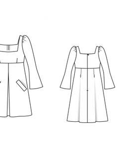 Платье: Burda 12/ 2014/ 127 A / Burdastyle