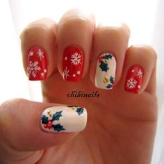 Best Christmas nail art