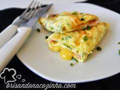 Aprenda a fazer a crepioca, um omelete de pão de queijo altamente nutritivo, livre de glúten com carboidrato de médio índice glicêmico.