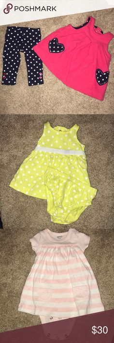 Carter's Baby Clothes New Born Never worn before baby girl clothes for new borns in perfect condition Carter's Matching Sets