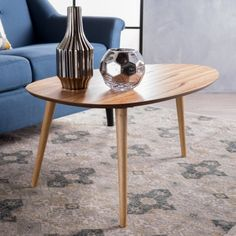 Christopher Knight Home Elam Mid-Century Wood Coffee Table by