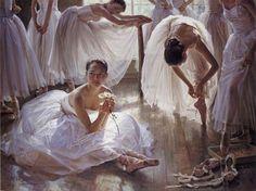 Ballet Paintings by Guan ZeJu