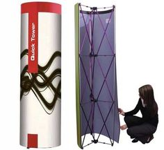 Pop Up Graphic Towers