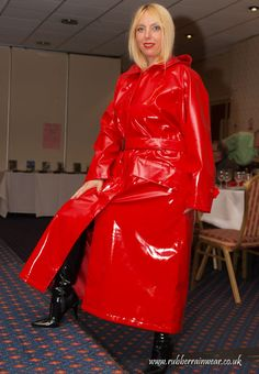 Red Raincoat, Raincoat Jacket, Plastic Raincoat, Rain Bonnet, Raincoats For Women, Unisex, Rain Wear, Red S, Photos