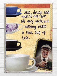 Magazine cutouts again. Rockn Roll, Fun Cup, Very Well, Journal, Magazine, Mugs, Tableware, Art, Art Background