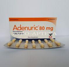 Аденурик 80 мг купить в Москве - Аденурик 80 мг Цена - Заказать Аденурик 80 мг - Доставка лекарств из Грмании - Немецкая аптека
