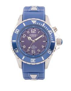 Kyboe! Riverside Water-Resistant Watch Women's Blue