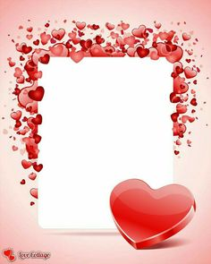 Framed Wallpaper, Heart Wallpaper, Fall Wallpaper, Happy Valentines Day Images, Valentines Day Background, Foto Frame, Valentines Illustration, Page Borders Design, Beautiful Love Pictures