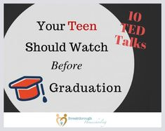 10 TED Talks Your Teen Needs to Watch Before Graduation – Breakthrough Homeschooling TED talks can really help prepare your high-schooling teen for life! High-school is way more than content…find character and people-skill training here. High School Counseling, Homeschool High School, Counseling Office, School Classroom, High School Students, High School Seniors, Best Ted Talks, Highschool Freshman, Freshman Year