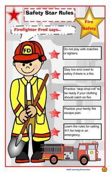 Fire prevention tips for children