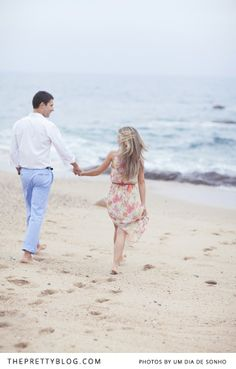 Vasco & Catarina's Vibrant Summer Shoot | Couples | The Pretty Blog