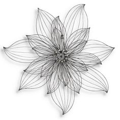 Find it at the Foundary - Flower Metal Wall Decor - 29 in.