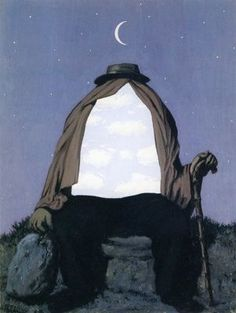 """Le thérapeute, René Magritte (1898-1967), signed 'Magritte'; signed, dated and inscribed """"LE THÉRAPEUTE"""" Magritte 1962' (on the reverse), gouache on paper, 14 1/8 x 10 7/8 in. (36 x 27.7 cm.) Executed in 1962."""