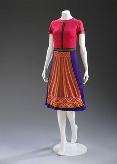 'Guanahato' dress, late 1960s  Roberta di Camerino Victoria and Albert Museum, London
