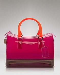 Furla Satchel - Colorblock Candy - The Statement Bag - Boutiques - Handbags - Bloomingdale's