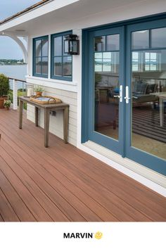 Marvin Doors, Marvin Windows, Studio Shed, Types Of Doors, Diy Patio, Patio Doors, Exterior Doors, Windows And Doors, Curb Appeal