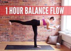 1 hour Vinyasa Flow for Balance & Stability - 60 min Yoga Workout