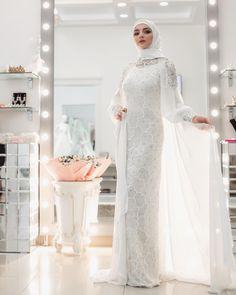 Muslimah Wedding Dress, Muslim Wedding Dresses, Wedding Dress Sleeves, White Wedding Dresses, Designer Wedding Dresses, Bridesmaid Dresses, Bridal Hijab, Bridal Gowns, Wedding Gowns