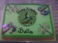 Dance bday cake