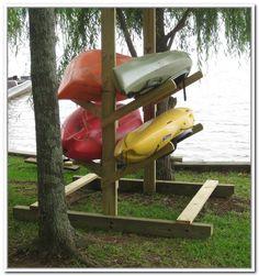 Kayak Storage Rack Homemade | Home Design Ideas