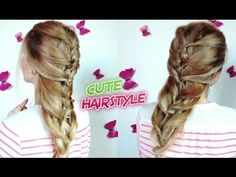 CUTE HAIRSTYLE EASY TWIST TOPSY TAILS VOLUMINOUS BRAID | Awesome Hairstyles