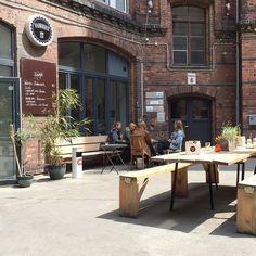 ♥ 86 — Super nice lunch location Vabrique #kreuzberg #restaurant Ritterhof…