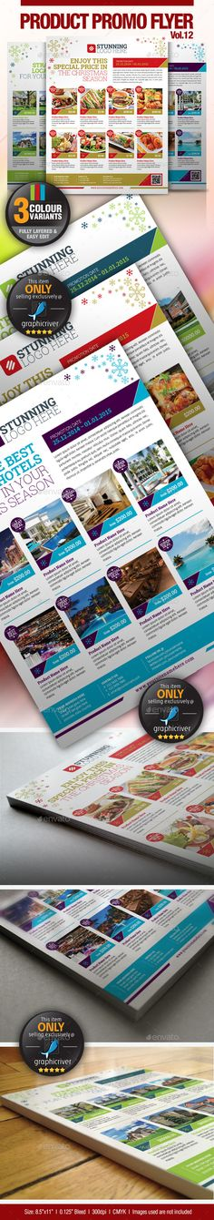 Multi-Purpose Product #Promotion Flyer Vol.12 - #Commerce #Flyers Download here:  https://graphicriver.net/item/multipurpose-product-promotion-flyer-vol12/9533125?ref=alena994
