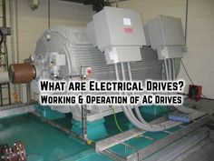Electrical Drives - Classification of AC Drives & VFD What are Electrical Drives? Working & Operation of AC Drives What is an Electric Drive? Principle Operation of Variable Frequency Drive (VFD) Electronic Engineering, Electronic Art, Electrical Engineering, Electrical Transformers, Electrical Work, Electronics Components, Utility Pole, Technology, English Vocabulary