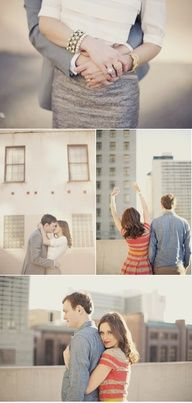 Cute engagement photo poses