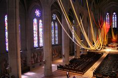 Tongues of Fire in the Nave by Nancy Chinn