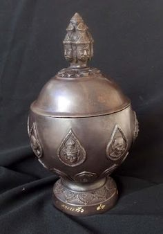 Brahma Head Holy Prayer Water Bowl Sacred Brazen Metals – Luang Phu Nong 2553 BE – Only 99 Made | Thai Buddhist Amulet