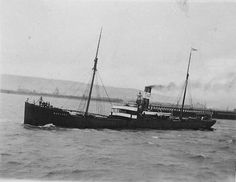 SS Bravore, The cargo ship struck a mine and sank in the North Sea 4 nautical miles (7.4 km) off Ramsgate, Kent, United Kingdom