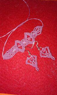 Adriana  Hobby: Macrame - Brăţară şi cercei Macrame, Manual, Crochet Earrings, Blog, Handmade, Jewelry, Hand Made, Jewellery Making, Jewerly